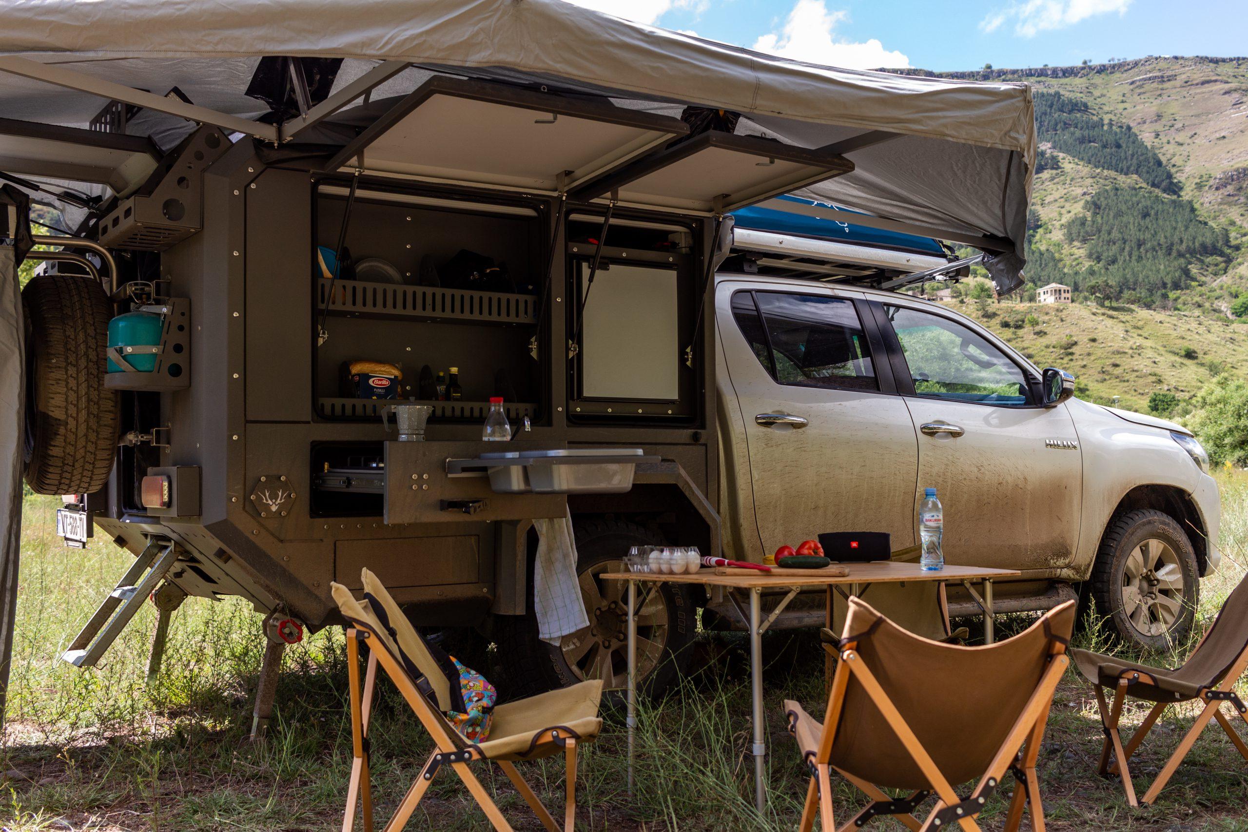 Toyota Hilux 4x4 Expedition Camper Overlando Com